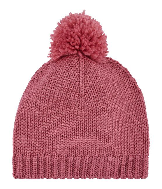 Mädchen Bommelmütze rosa Cheek