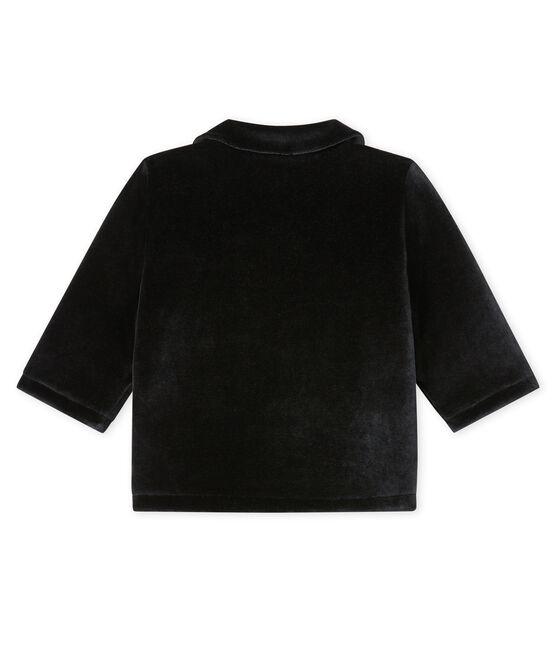 Baby-Jacke für Jungen schwarz Noir