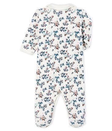 Baby-Strampler aus Rippstrick für Mädchen