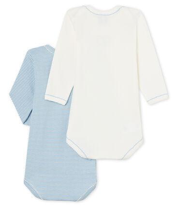 Zweier-Set langärmlige Baby-Bodys für Mädchen