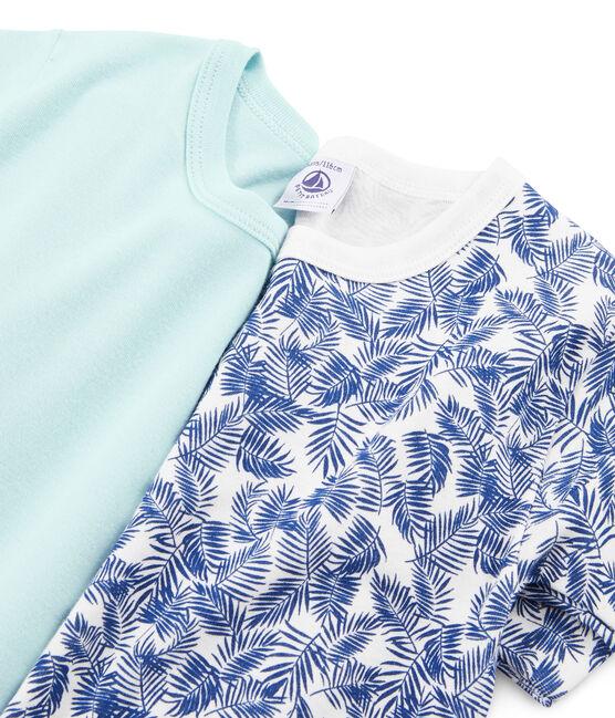 2er-Set T-Shirts kurzärmlig für kleine Jungen lot .