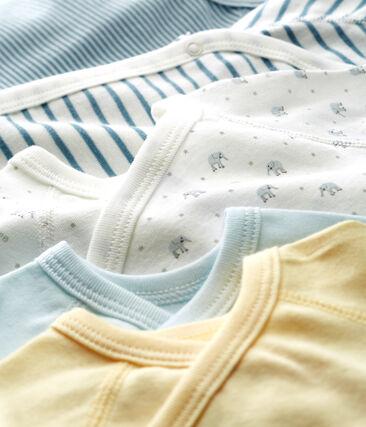 5er-Set Baby-Bodys für neugeborene Jungen