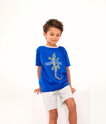 Kinder-T-Shirt für Jungen blau Surf