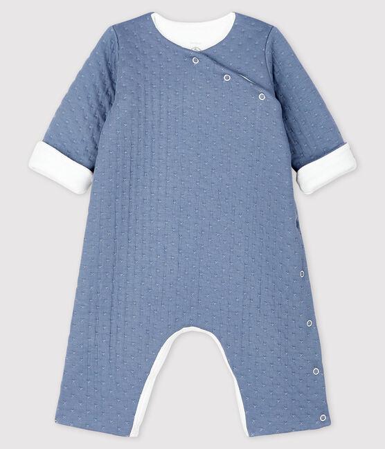 Langer Baby-Overall aus gestepptem Doppeljersey TEMPETE