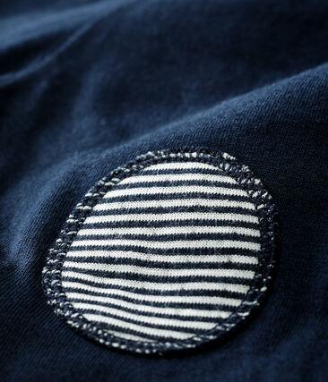 Baby-Hose aus Doppeljersey blau Smoking