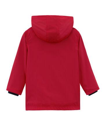 Kinder-Regenjacke unisex rot Terkuit