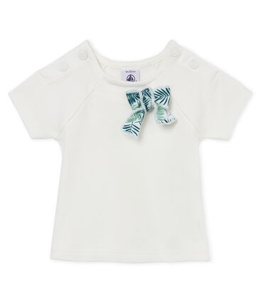 Kurzärmelige baby-bluse mädchen