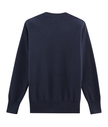 Damenpullover blau Smoking