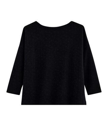 Streifenshirt im neuen Look für Damen schwarz Noir / schwarz Lurex Noir