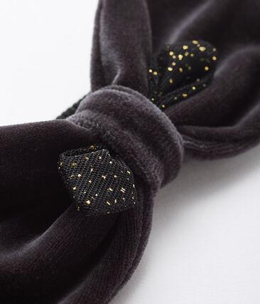 Baby-Haarband für Mädchen grau Capecod / gelb Or