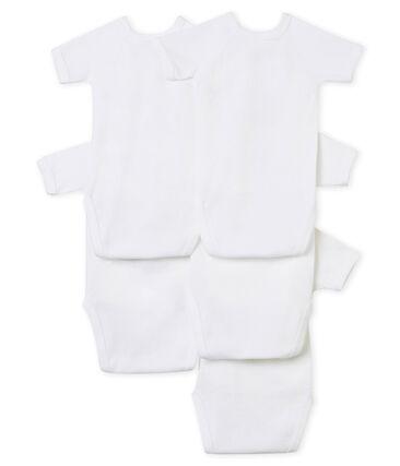 5er-Set kurzärmelige Neugeborenen-Bodys Unisex