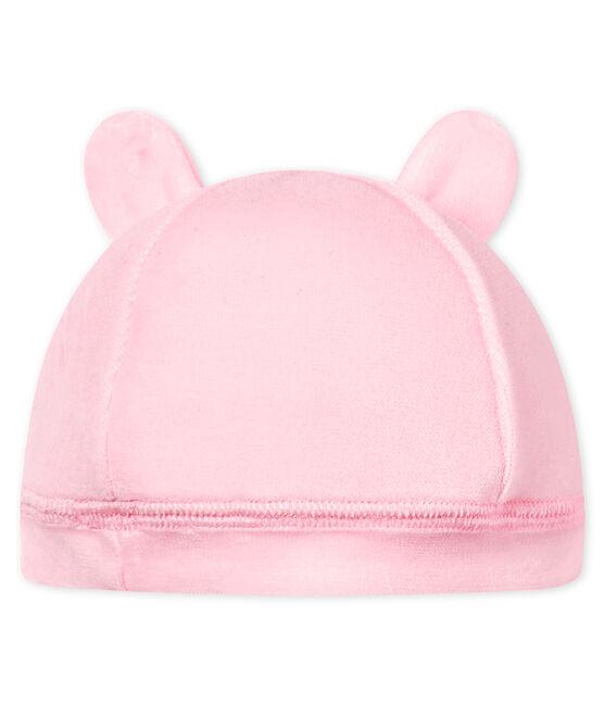 Baby-mütze für neugeborene unisex aus samt VIENNE