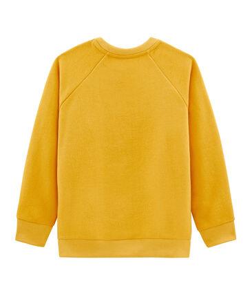 Sweatshirt für Jungen gelb Boudor