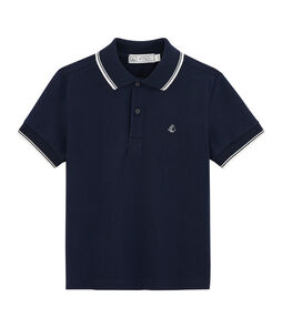 Kinder-Poloshirt für Jungen blau Smoking