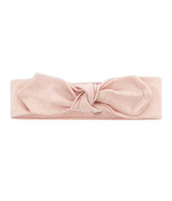 Kinder-Haarband Mädchen blau Bocal / rosa Copper