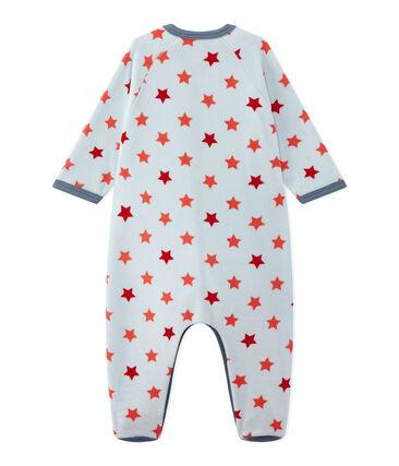 Jungen Strampler mit Sternen bedruckt