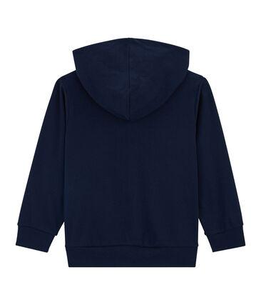 Kinder-Sweatshirt für Jungen blau Smoking