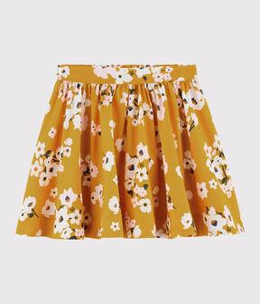 Kinderrock aus Popelin für Mädchen BOUDOR/MULTICO