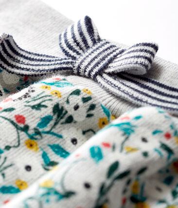 Baby-Hose aus bedrucktem Molton für Mädchen
