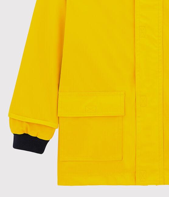 Klassische Regenjacke für Mädchen und Jungen gelb Jaune