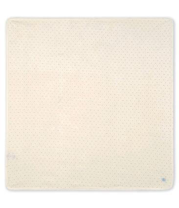 Decke für Neugeborene aus Rippstrick MARSHMALLOW/SCULPTURE/MULTICO