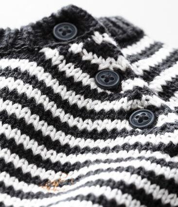 Baby Jungen Pullover mit Milleraies-Ringelstreifen