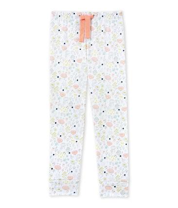 Bedruckte Mädchen-Schlafanzughose zum Kombinieren