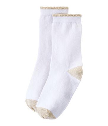 Einfarbige Mädchen-Socken