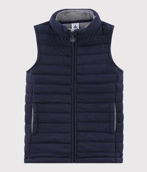 Ärmellose Jacke für Mädchen und Jungen blau Smoking