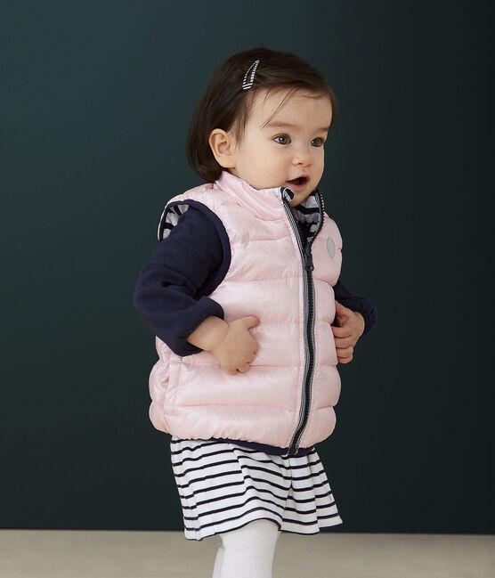 Wendbarer Baby-Anorak rosa Minois