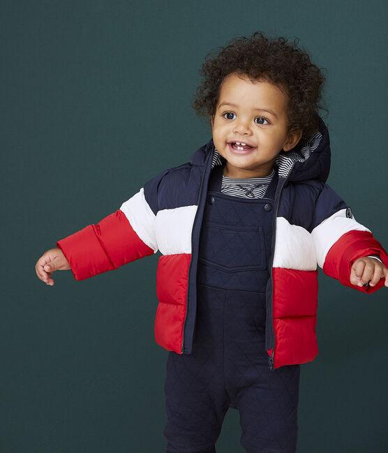 Gesteppter Baby-Anorak für Jungen blau Smoking / weiss Multico