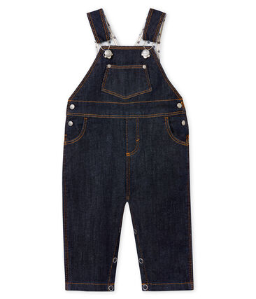 Lange baby-jeanslatzhose unisex