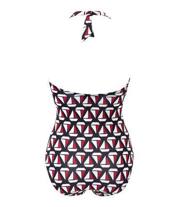 Bedruckter Damen-Badeanzug
