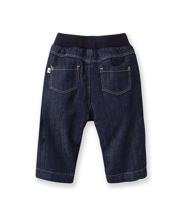 Gefütterte Baby-Jeans blau Jean