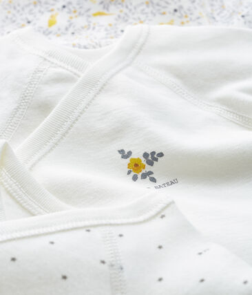 3er-Set langärmlige Neugeborenen-Bodys für Mädchen lot .