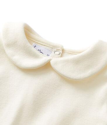 Baby-Mädchen-Body mit Bubi-Kragen