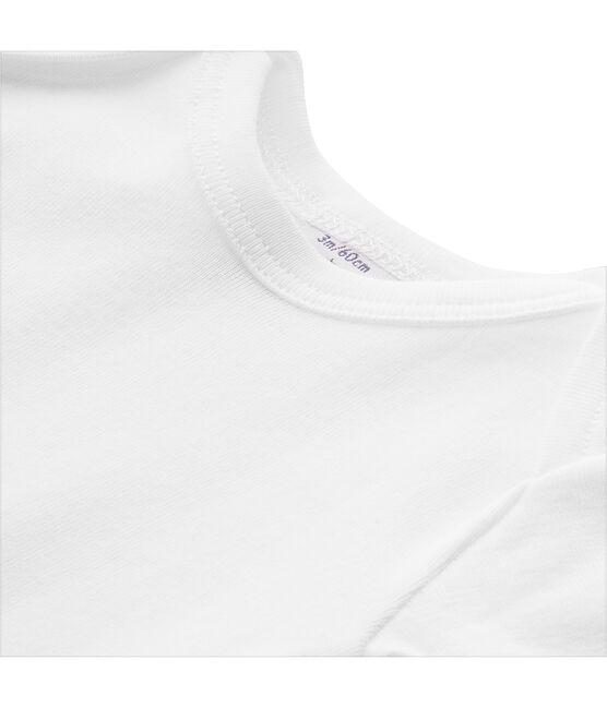 Baby-T-Shirt, Unisex uni weiss Ecume