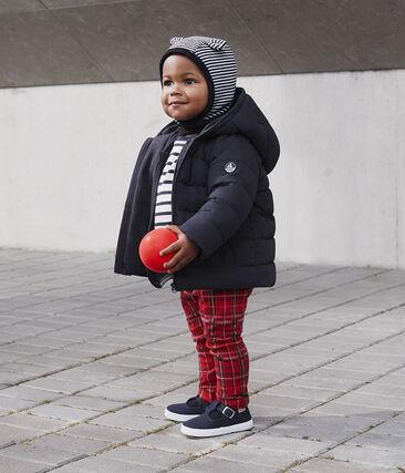 Karierte Strick-Babyhose für Jungen