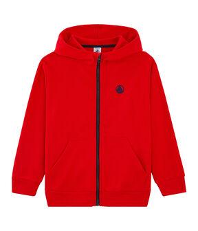 Kinder-Sweatshirt rot Peps