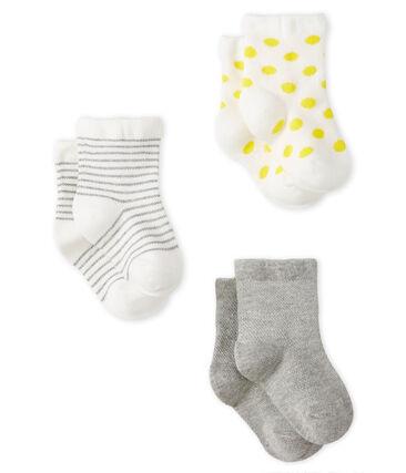 3er-Set leichte Kinderstrümpfe Baby Mädchen
