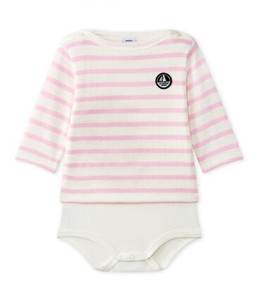 Langärmeliger Baby-Body im maritimen Stil