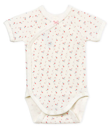 Kurzärmeliger Neugeborenen-Baby-Body für Mädchen