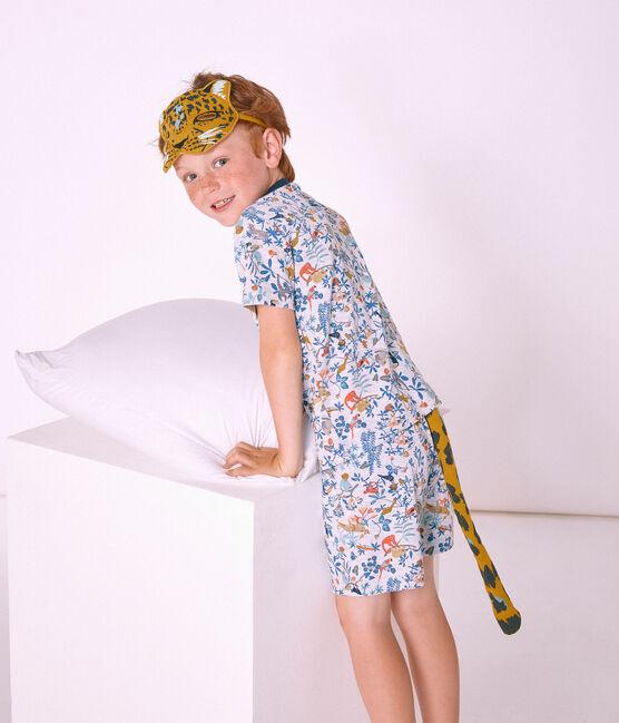 Accessoires für kleine Jungen gelb Bamboo / weiss Multico
