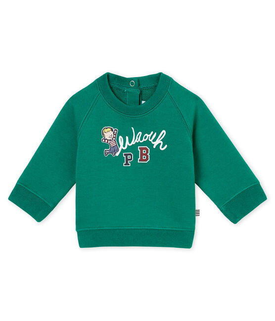 Baby Jungen Sweatshirt grün Pivert