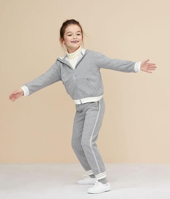 Kinder-Sporthose für Mädchen grau Subway