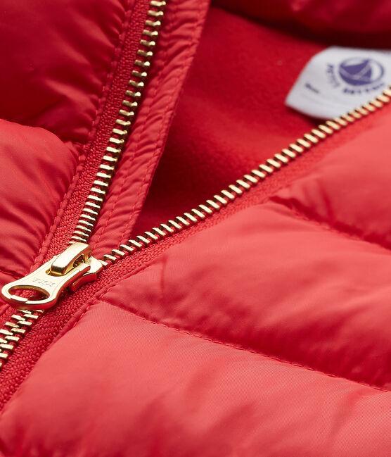 Mädchen-winterjacke mit Kapuze rot Froufrou