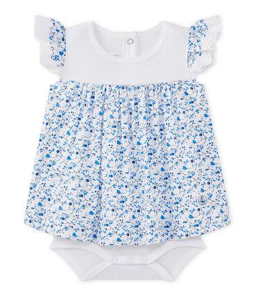Bedrucktes Baby-Mädchen-Bodykleid aus Popeline