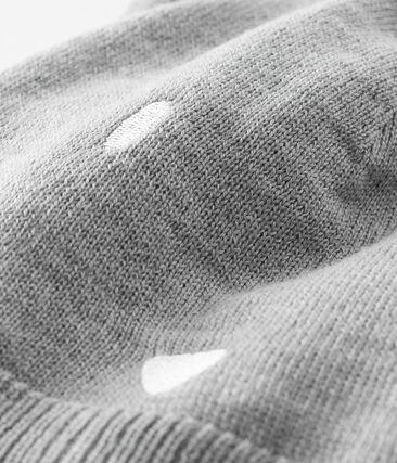 Baby-Mütze unisex grau Subway