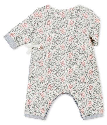 Wattierter Baby MädchenOverall mit Print