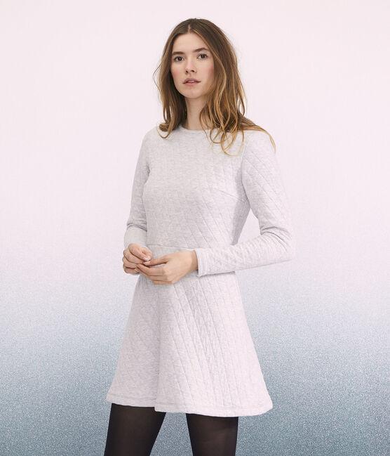 Damenkleid grau Beluga
